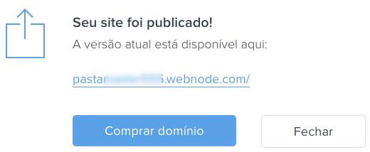como criar um site webnode
